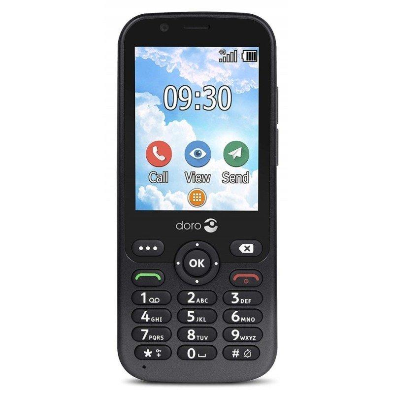 """Doro 7010 2.8"""" 512MB Mobile Phone - Black"""