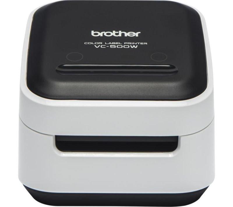 Brother VC-500W label printer ZINK (Zero-Ink) Colour 313 x 313 DPI Wired & Wireless