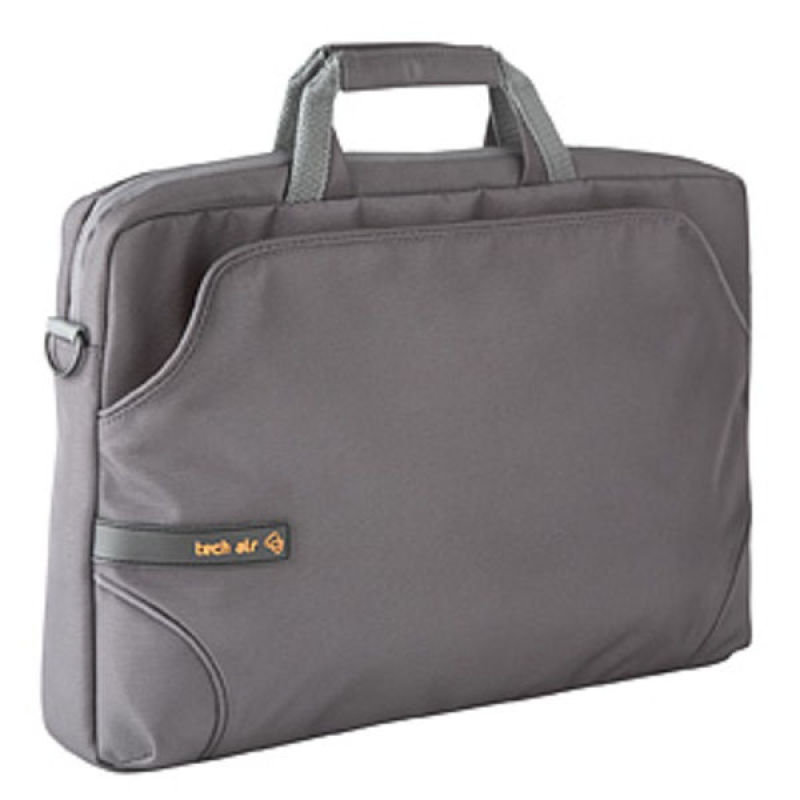 "Image of Tech Air Z0117 Laptop Sleeve - For Laptops up to 15.6"" - Grey"
