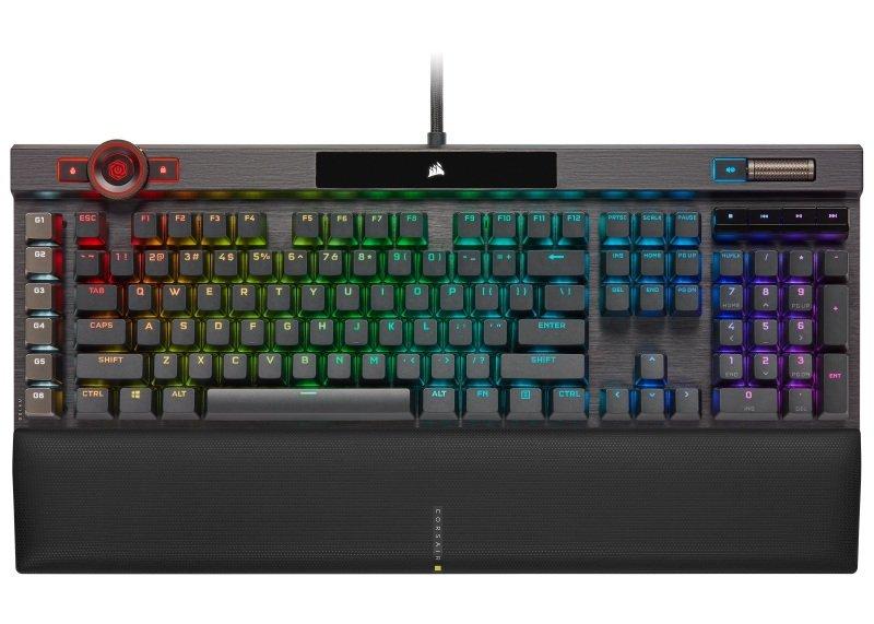 Image of Corsair K100 RGB MX Speed Mechanical Gaming Keyboard