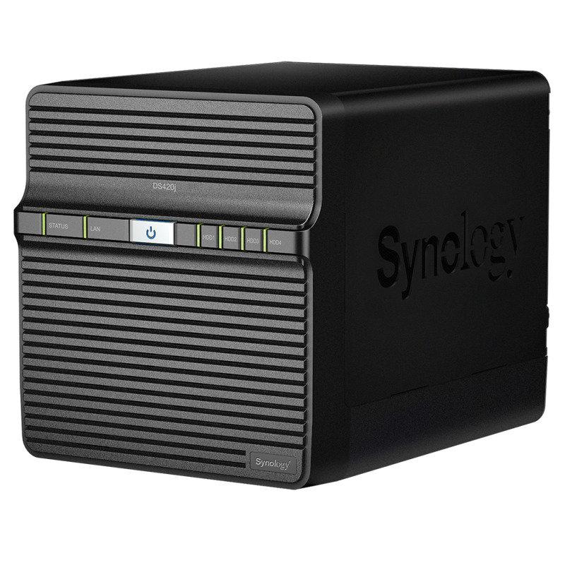 Synology DS420j 8TB (4 x 2TB SGT-IW) 4 Bay Desktop NAS Unit