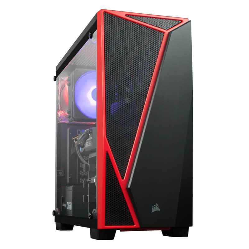 AlphaSync Ryzen 7 16GB RAM 1TB HDD 240GB SSD RX 5700 XT No OS Gaming Desktop PC