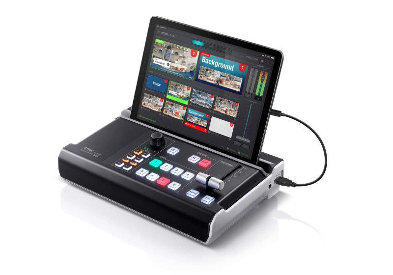 UC9020 Aten StreamLive HD All-in-one Multi-channel AV Mixer