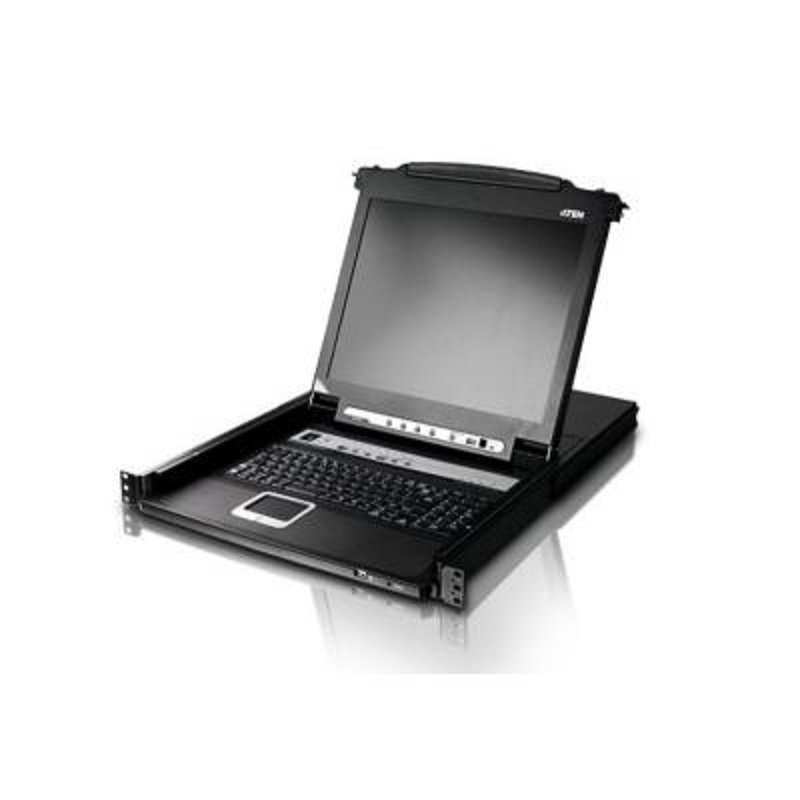Aten CL5708M-ATA-EE - 8-Port Slideaway LCD KVM Switch