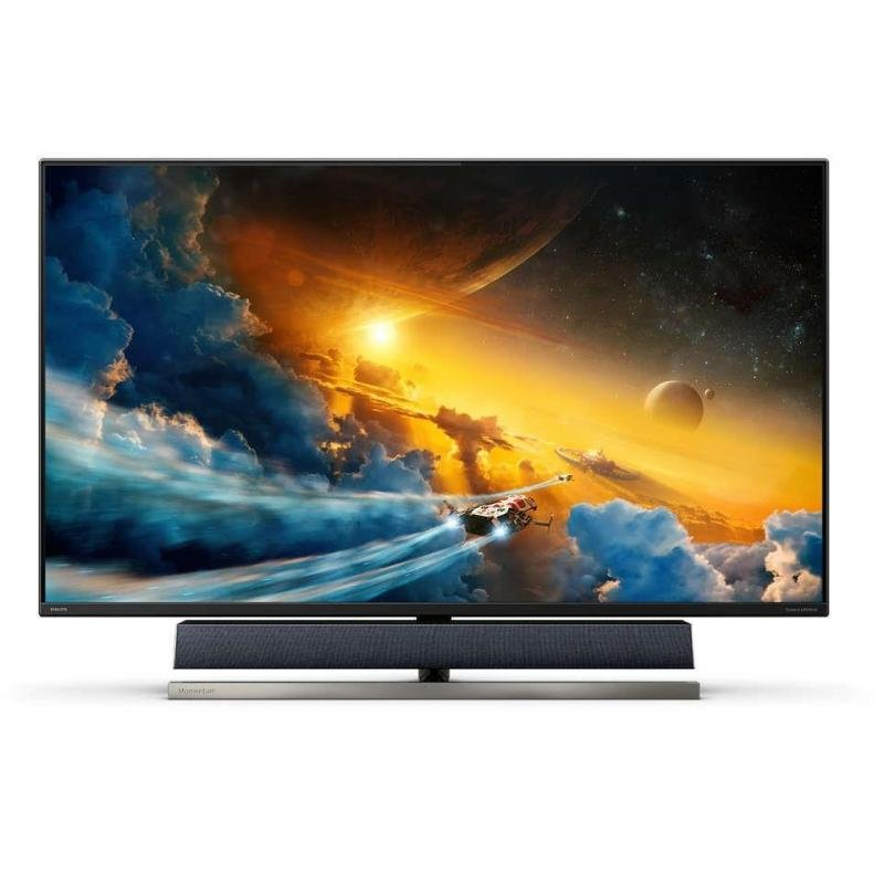 """Philips 558M1RY/00 55"""" 4K Ultra HD HDR Gaming Monitor with Ambiglow"""