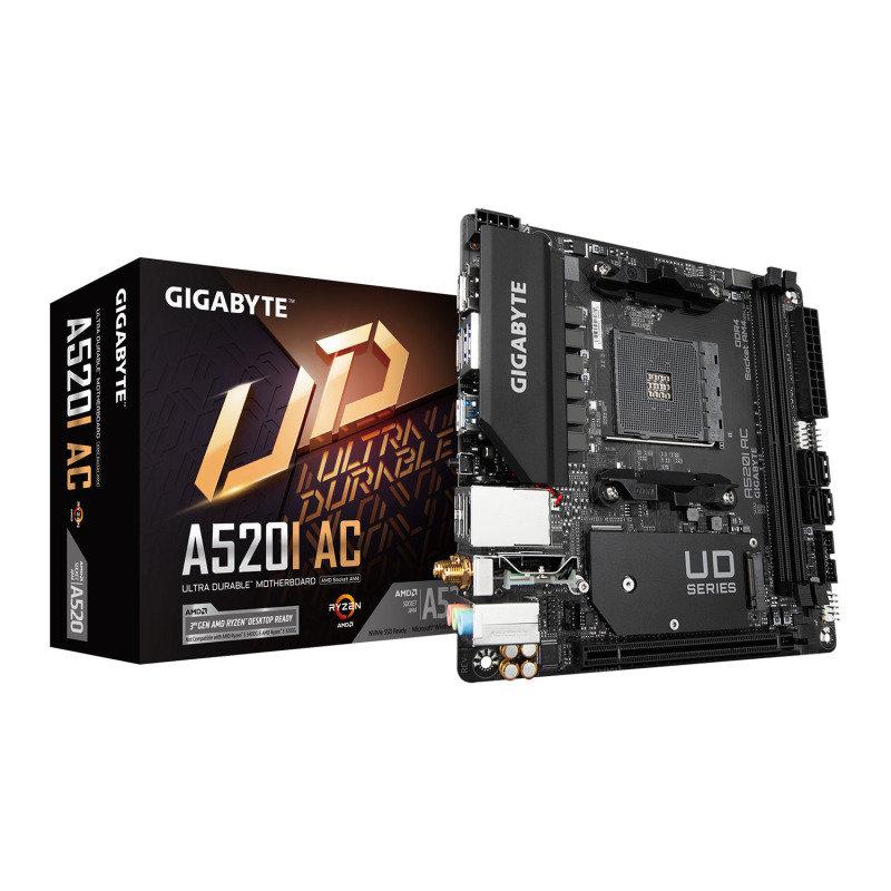 Gigabyte AMD Ryzen A520 AM4 Mini-ITX Motherboard