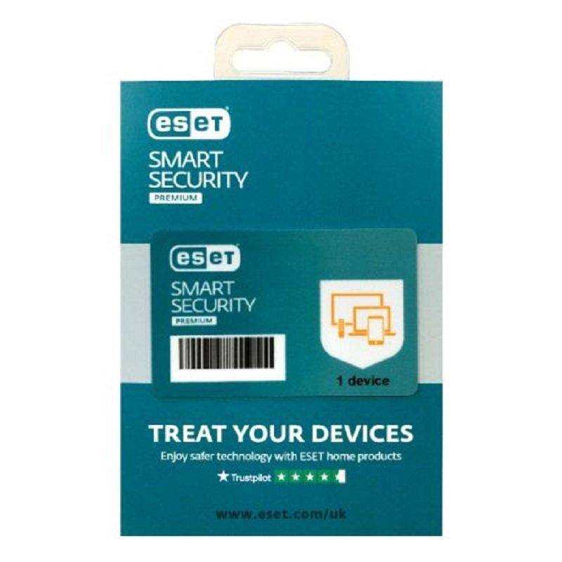 ESET Smart Security Premium Retail Box Single - Single 1 Device Licence - 1 Year