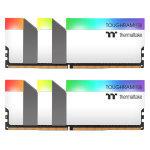 TOUGHRAM RGB WHITE 64GB (2x32GB) DDR4 3200MHz C16 Memory