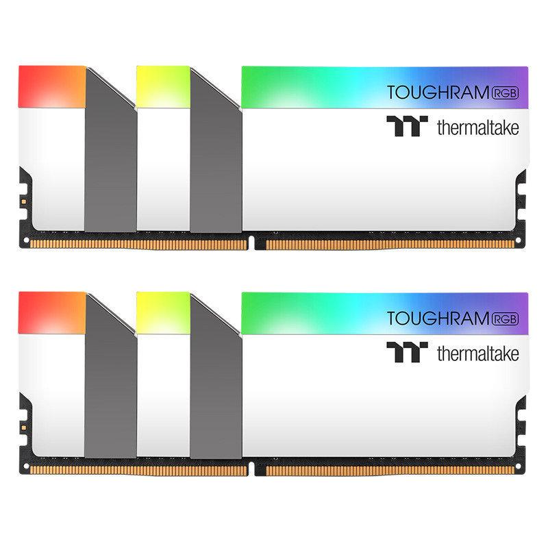 TOUGHRAM RGB WHITE 64GB (2x32GB) DDR4 3600MHz C18 Memory