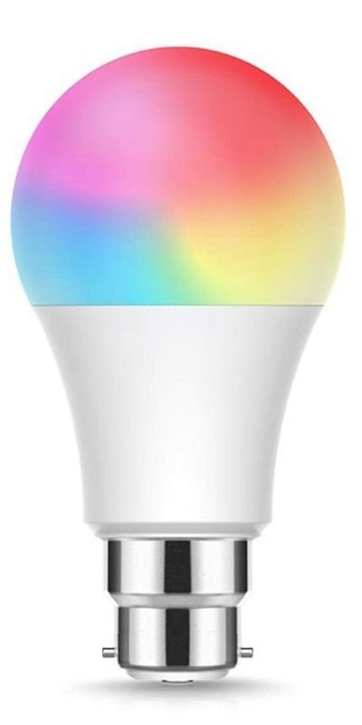 Ener-J Smart WiFi Colour Changing LED Bulb - Works with Alexa and Google Assistant