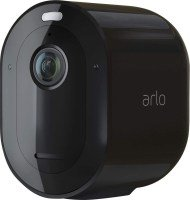 Arlo Pro3 Smart Home Security Cameras | Alarm | Rechargeable | Colour Night Vision | Indoor/Outdoor | 2K QHD | 2-Way Audio | Spotlight | Add on camera - SmartHub needed | VMC4040B - Black edition