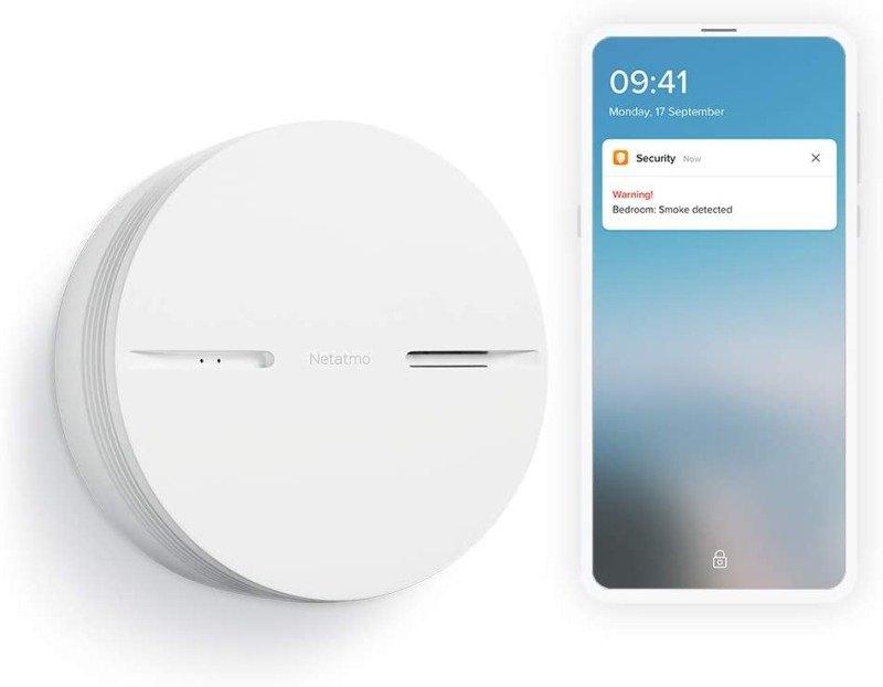 Netatmo Smart Smoke Alarm - Works with HomeKit