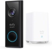 eufy Battery Powered 2K Video Doorbell with HomeBase and No Monthly Fee - Works with Alexa and Google Assistant