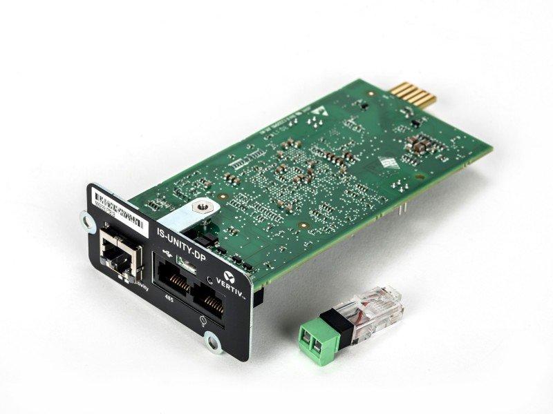 Vertiv Liebert IS-UNITY-DP Management Module - 2 Network RS-485 Management