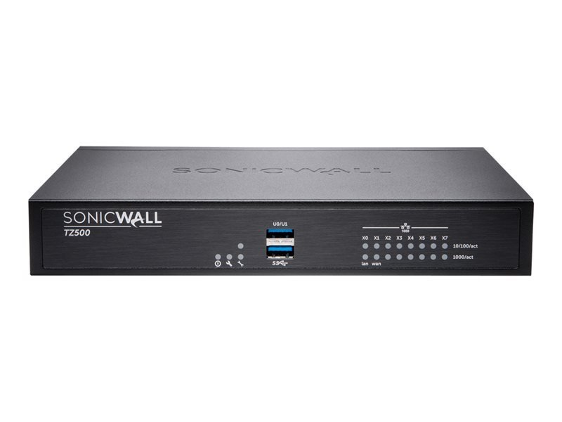 SonicWall TZ500 - Advanced Edition - Security Appliance - Secure Upgrade Plus 3YR