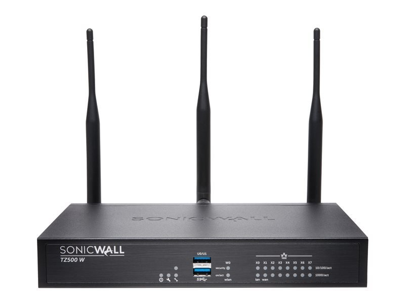 SonicWall TZ500 Wireless-AC - Advanced Edition - Security Appliance - with 1 year Advanced Threat De