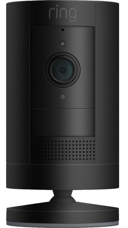Ring Stick Up Battery Cam with Two Way Talk - Black
