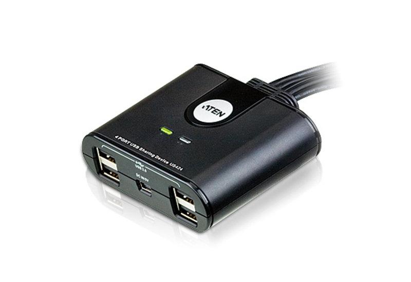 Aten US424 - 4-port USB Peripheral Sharing Device