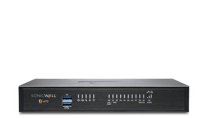 SonicWall TZ670 - High Availability (HA) Unit