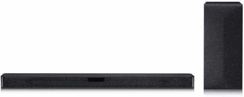 LG SN4 Bluetooth 2.1 Soundbar with Wireless Subwoofer - Black