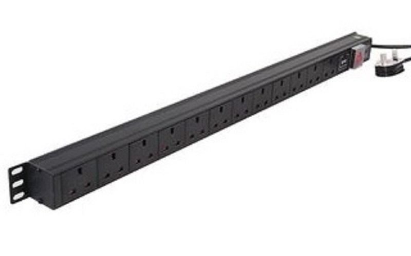 Image of Dynamode 12-Way High Density Vertical 13A Switched PDU/Power Bar w/Surge Protection