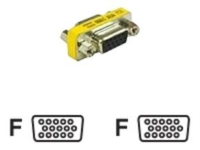 C2G, HD15 VGA F/F Mini Gender Changer (Coupler)