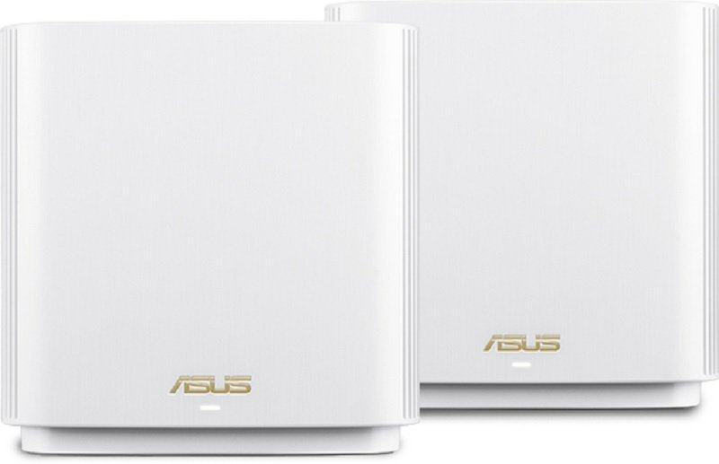 ASUS ZenWiFi AX Whole-Home Tri-Band Mesh WiFi 6 System (XT8) - White 2 PACK