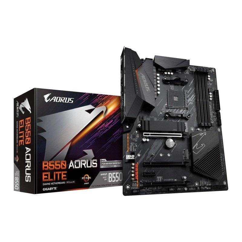 Exdisplay Gigabyte AMD B550 AORUS ELITE AM4 ATX Motherboard
