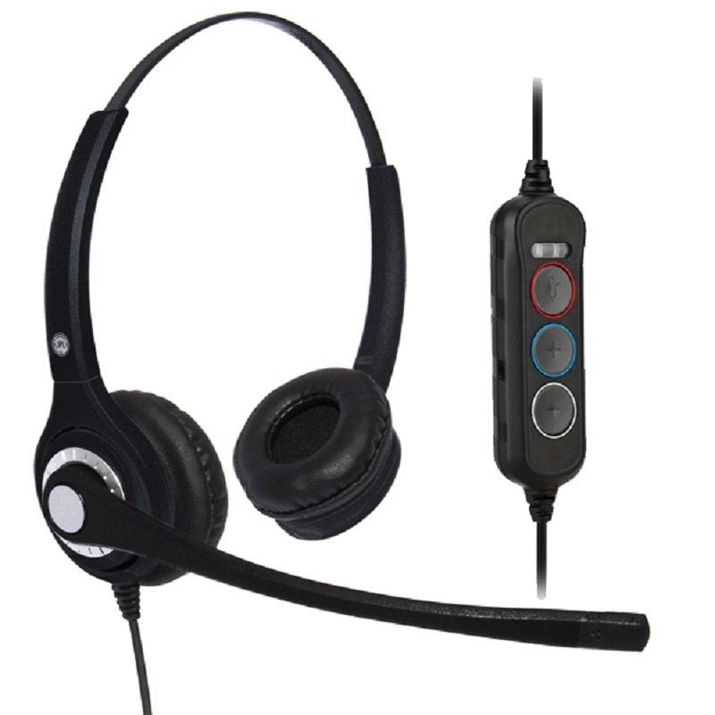 JPL 402S Stereo USB Headset