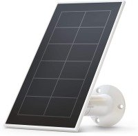 Arlo VMA3600 Essential Solar Panel Charger, Weather Resistant, 8 ft Power Cable, Adjustable Mount, Designed for Essential Wireless Wi-Fi Cameras, White (Official)