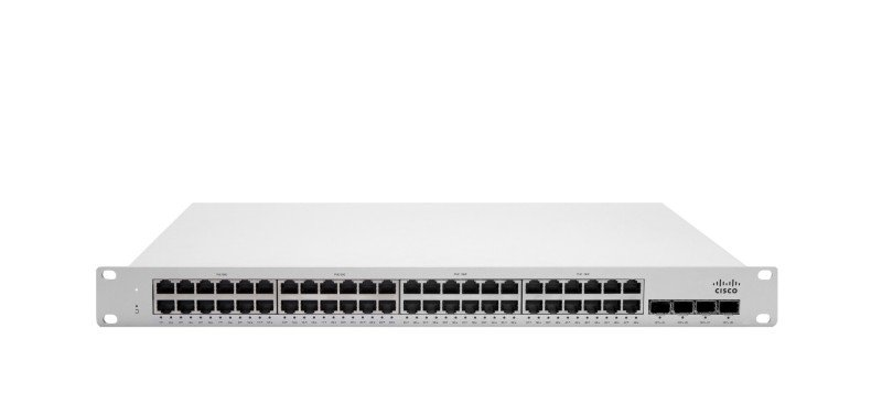 Cisco Meraki MS250-48FP L3 Cloud-Managed Stackable PoE Switch