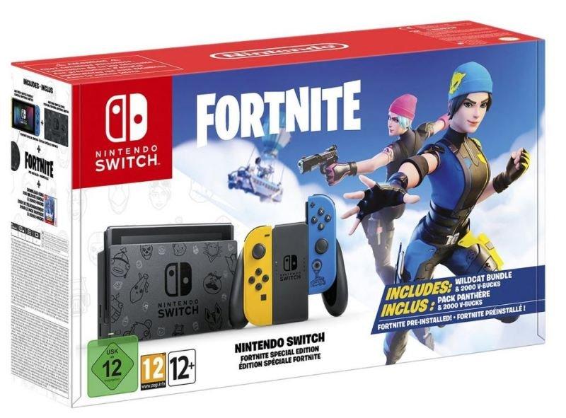 Nintendo Switch Fortnite Special Edition Bundle