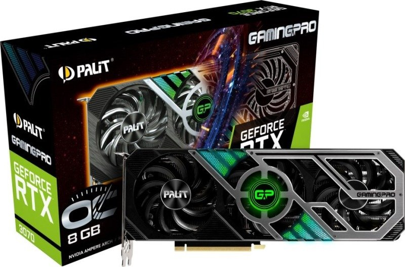 Palit GeForce RTX 3070 8GB GamingPro OC Ampere Graphics Card