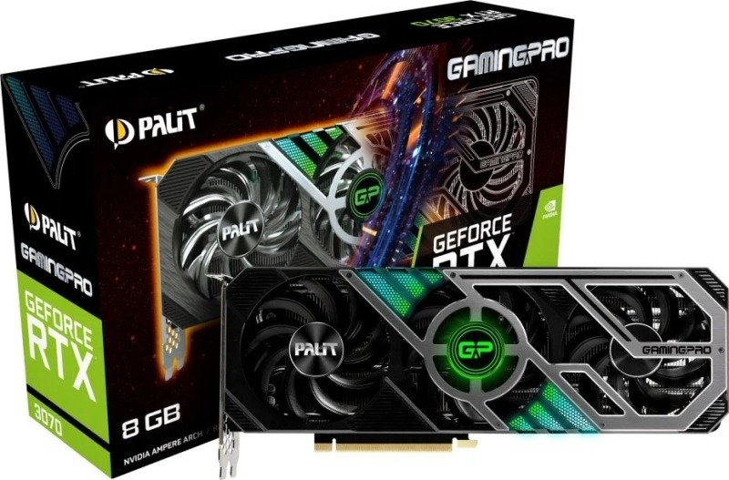 Palit GeForce RTX 3070 8GB GamingPro Ampere Graphics Card