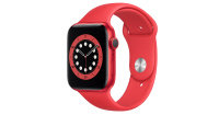 Apple Watch Series 6 GPS, 44mm PRODUCT(RED) Aluminium Case with PRODUCT(RED) Sport Band - Regular