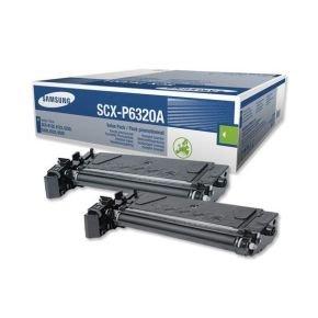 Samsung SCX-P6320A Black Dual Pack Toner Cartridge - 2x 8,000 Pages