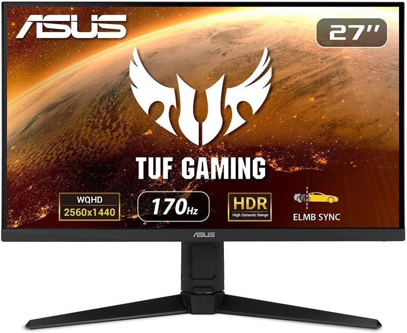 "ASUS TUF VG27AQL1A 27"" WQHD 170Hz 1ms Gaming Monitor"