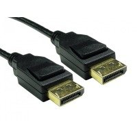 Ultra High Speed 8K Displayport to Displayport 1.4 Cable 3M - Black