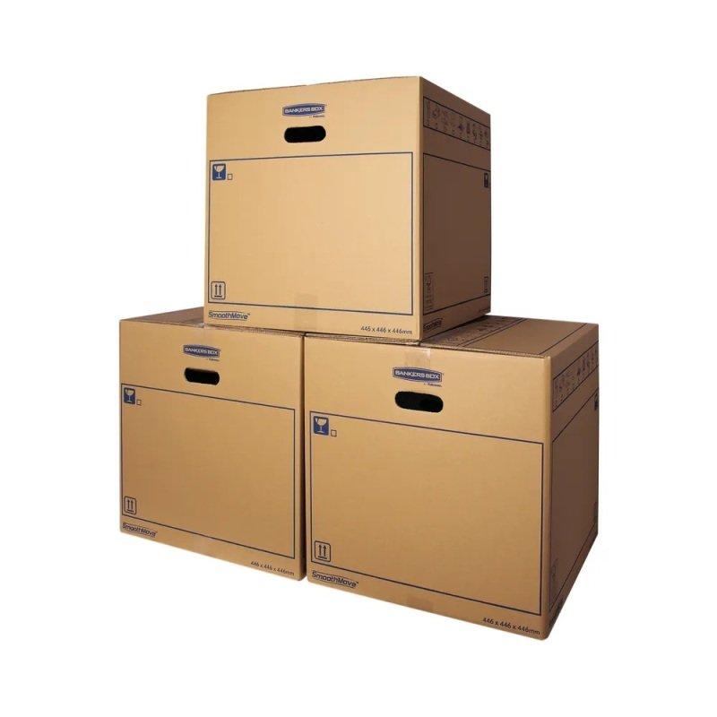 SMOOTHMOVE MOVING BOX 446X446X446MM PK10