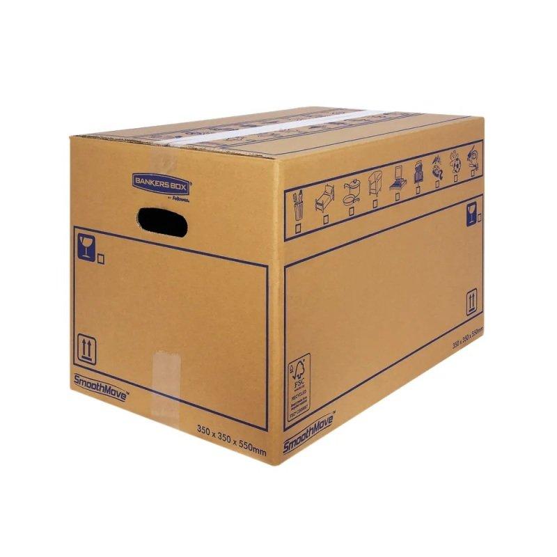 SMOOTHMOVE MOVING BOX 350X350X550MM PK10