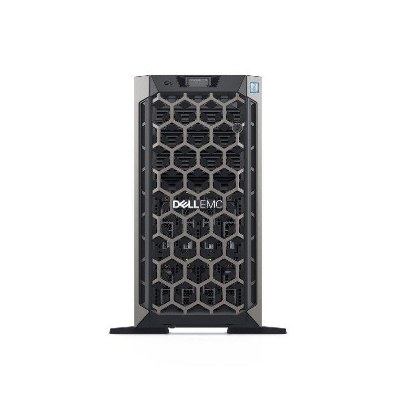 Dell EMC PowerEdge T440 - Tower - Xeon Silver 4214R 2.4 GHz - 32GB - SSD 480GB