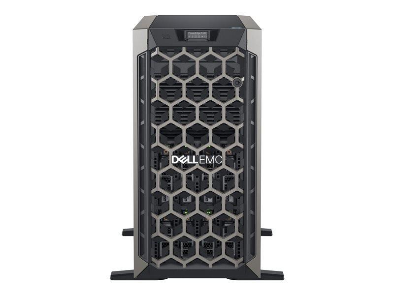 Dell EMC PowerEdge T440 + Win Server 2019 Standard - Tower - Xeon Silver 4214R 2.4 GHz - 32GB