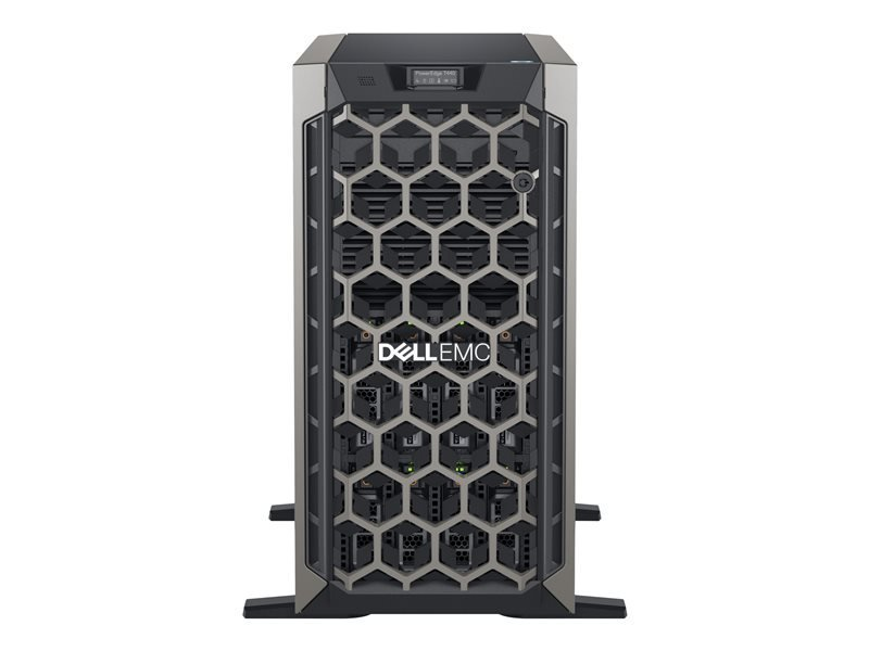 Dell EMC PowerEdge T440 + Win Server 2019 Standard - Tower - Xeon Silver 4210R 2.4 GHz - 16GB