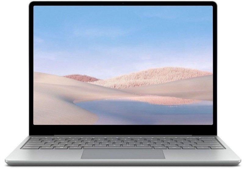 "Image of Microsoft Surface Laptop Go Core i5 8GB 128GB SSD 12.4"" Windows 10 Pro - Platinum"