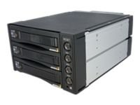 "StarTech 3 Bay 3.5"" Removable HDD Rack Backplane"