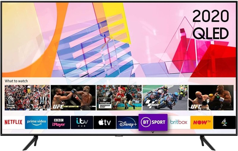 "Samsung QE43Q65T (2020) 43"" QLED HDR 4K Ultra HD Smart TV"