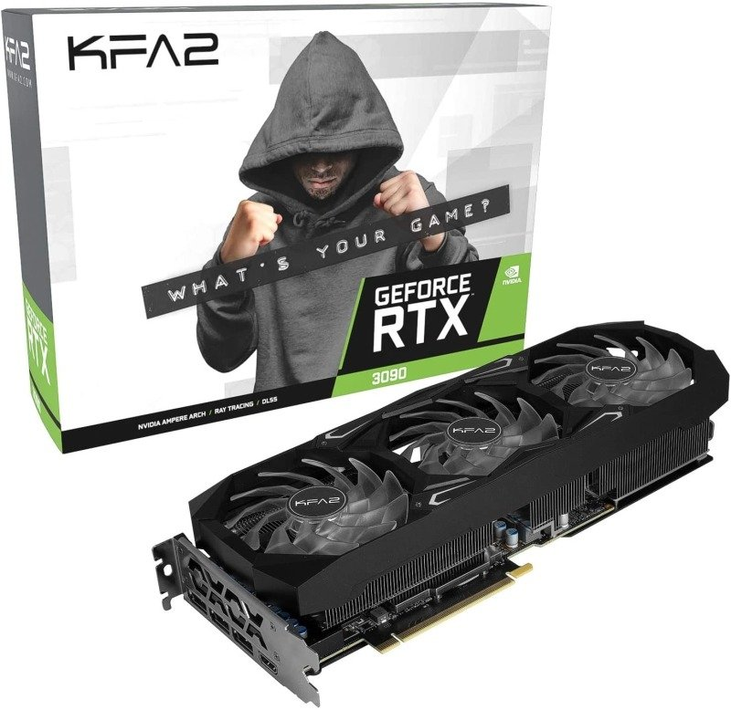 Image of KFA2 GeForce RTX 3090 SG 24GB GDDR6X Ampere Graphics Card