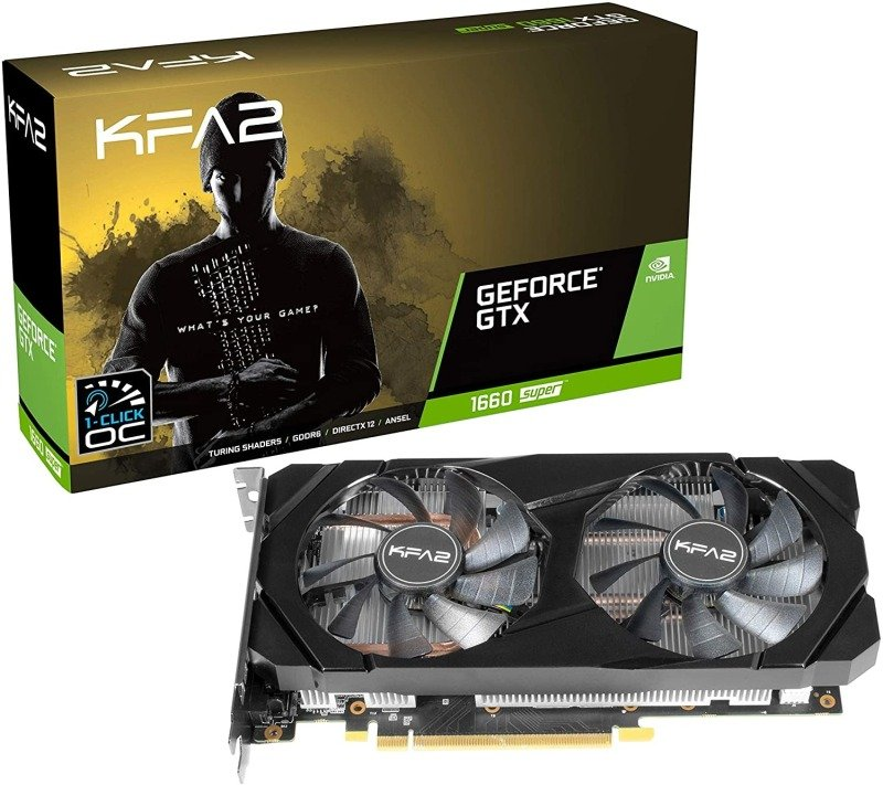 KFA2 GeForce GTX 1660 Super 6GB OC Graphics Card