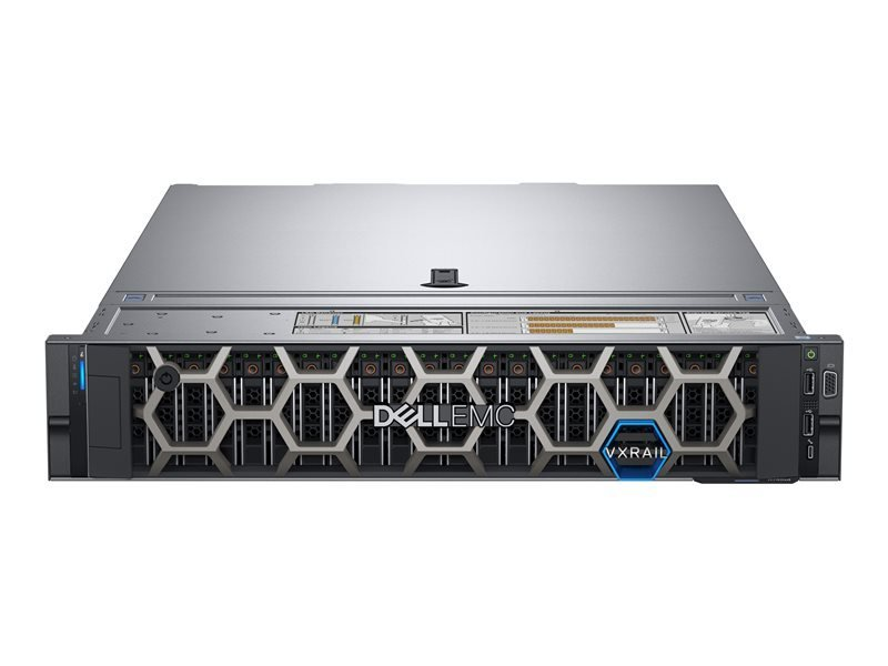 Dell EMC PowerEdge R740 + Win Server 2019 Essential - Rack-mountable - Xeon Silver 4214R 2.4 GHz -