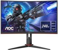 "EXDISPLAY AOC C27G2ZE/BK 27"" Full HD 240Hz Curved Monitor"